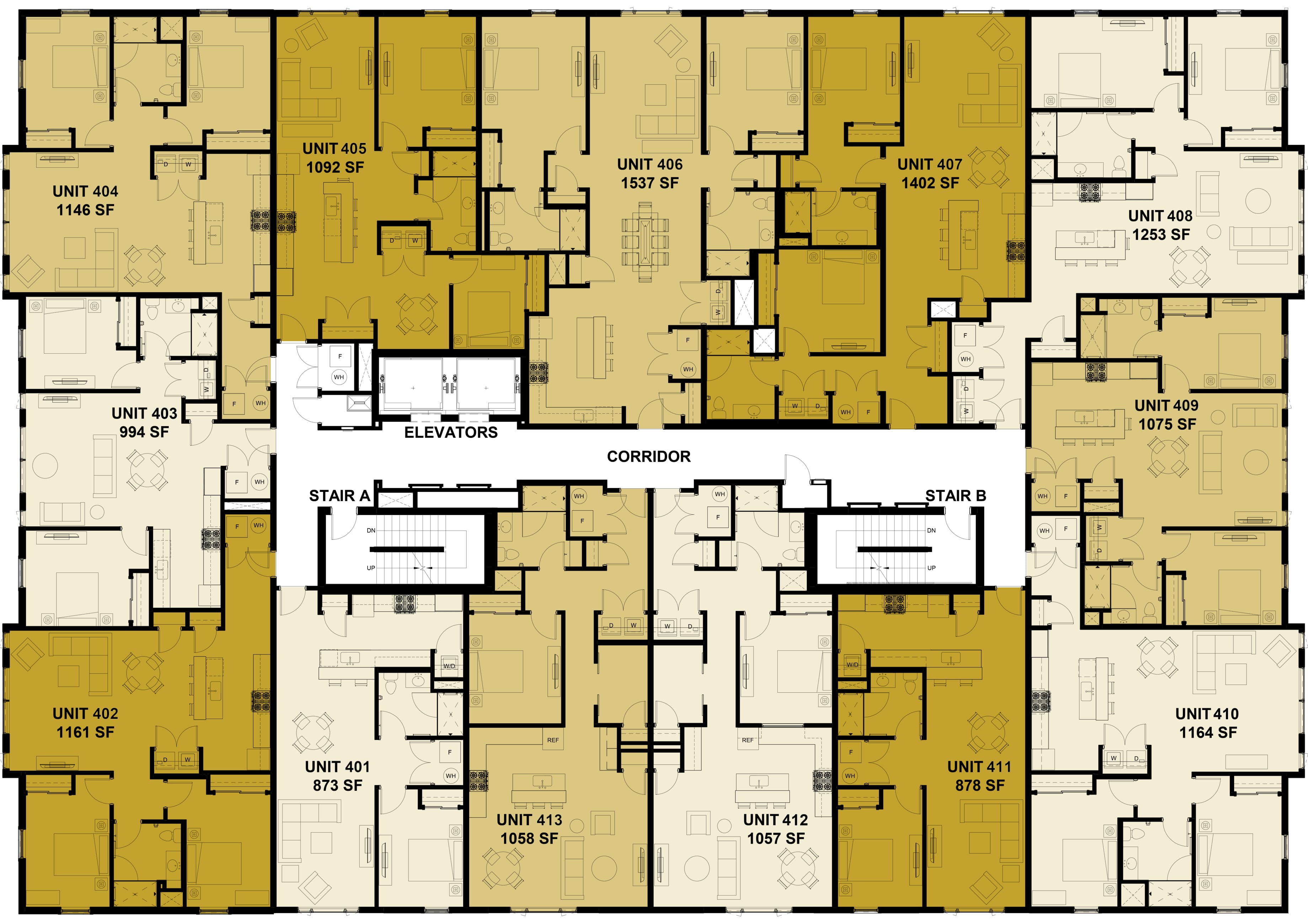 Plans for the Fourth Floor