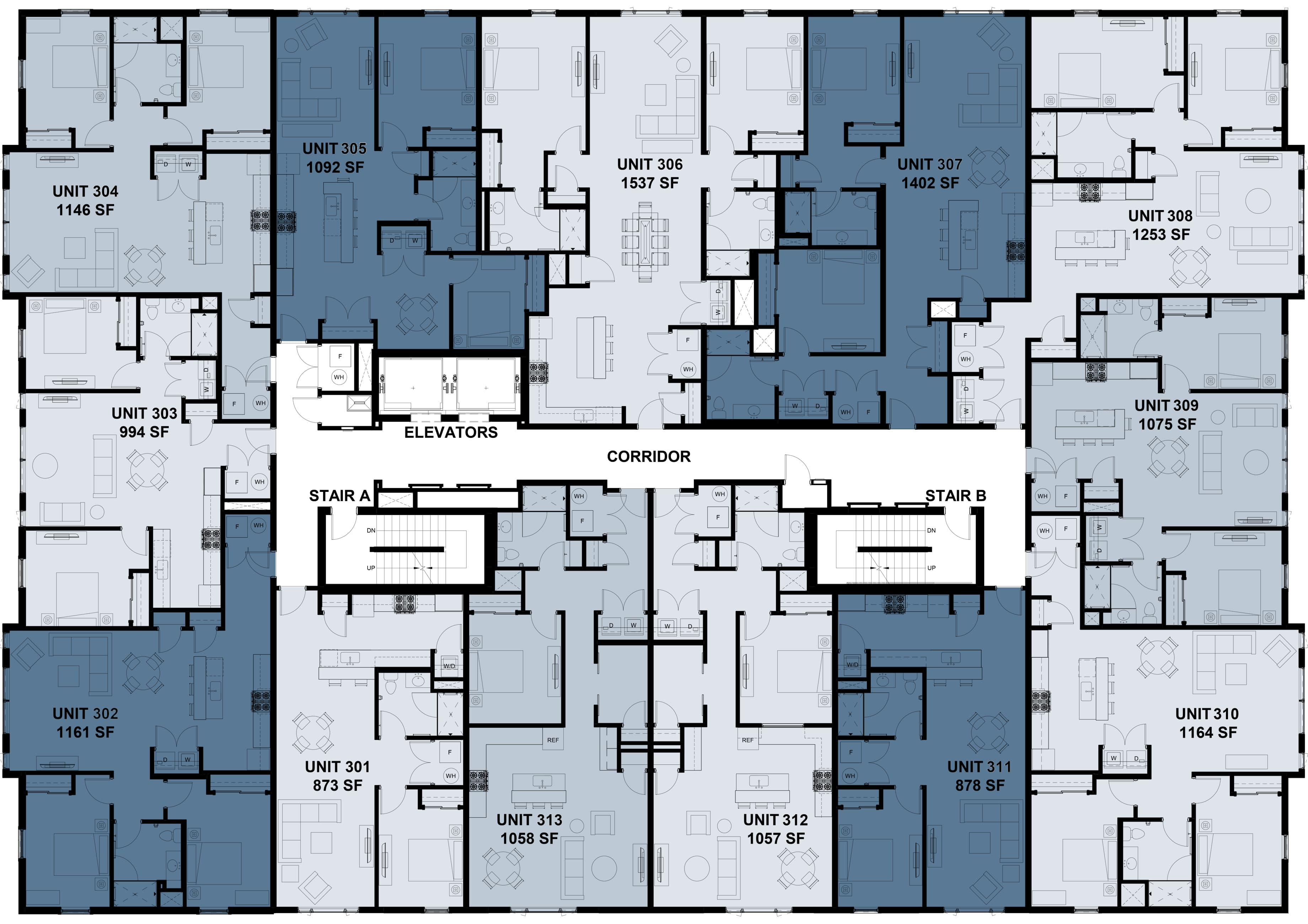Plans for the Third Floor